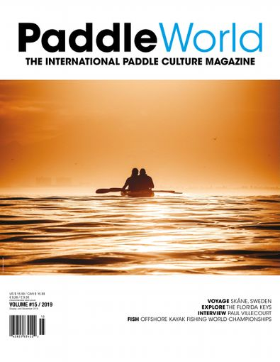Paddle World Magazine digital cover