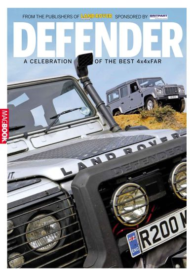 Landrover Defender digital cover