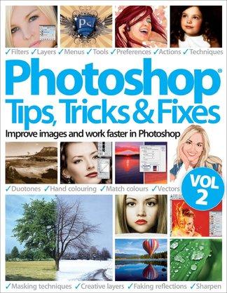 Photoshop Tips, Tricks & Fixes Vol 2 digital cover