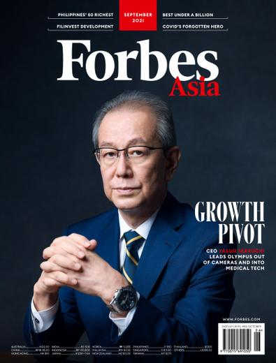 Forbes Asia digital cover