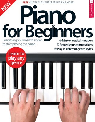 Piano For Beginners digital cover
