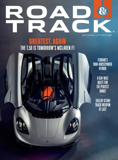 Road & Track digital cover