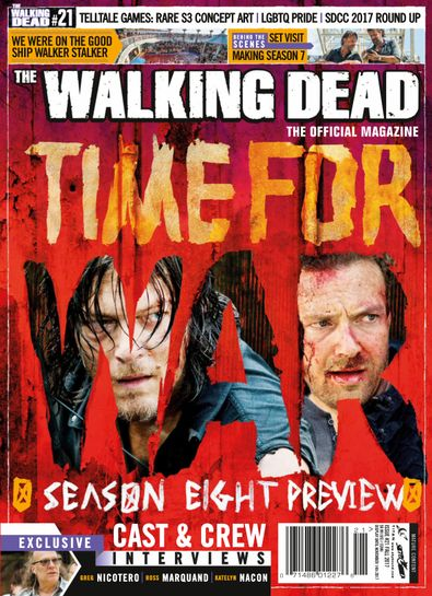 The Walking Dead Magazine digital cover