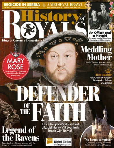 History Of Royals digital cover