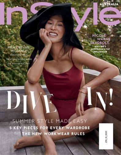 InStyle Australia Magazine digital cover