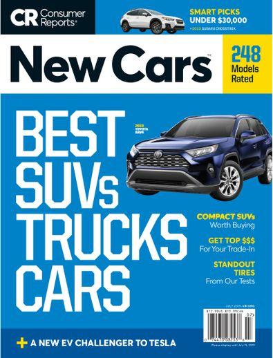 Consumer Reports New Cars digital cover