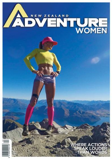 Adventure Magazine digital cover