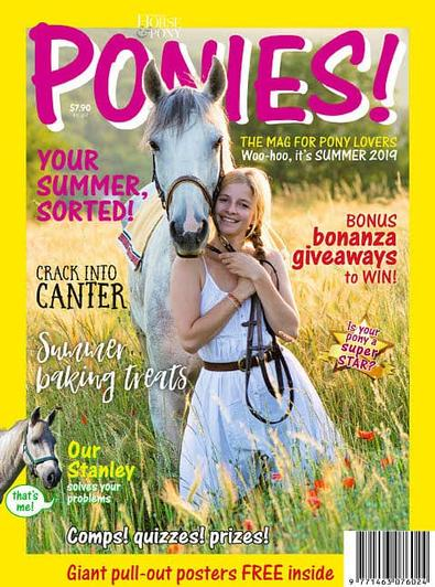 PONIES! magazine cover