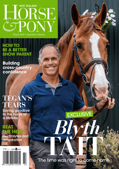 NZ Horse & Pony magazine cover