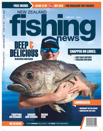 NZ Fishing News magazine cover