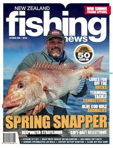 NZ Fishing News magazine cover
