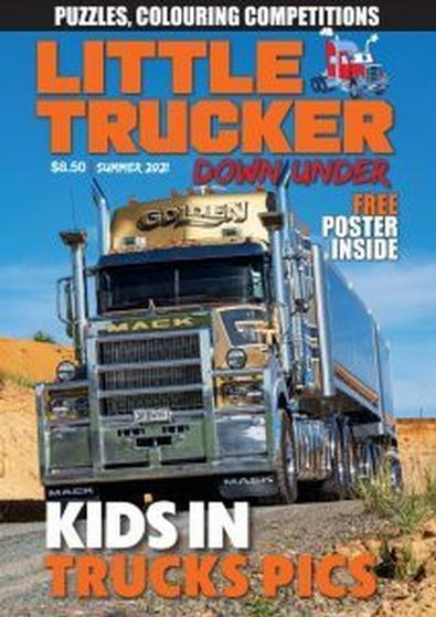 Little Trucker Downunder magazine cover