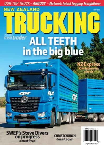 NZ Trucking magazine cover