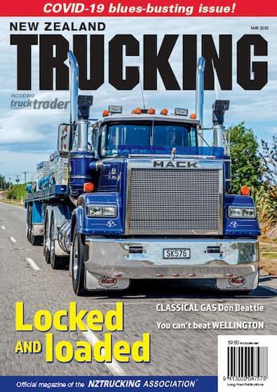 NZ Trucking magazine cover