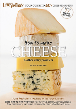 How to Make Cheese & Other Dairy Products cover