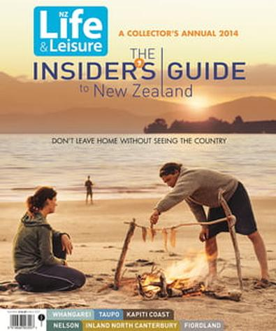 The Insider's Guide to New Zealand 2014 cover