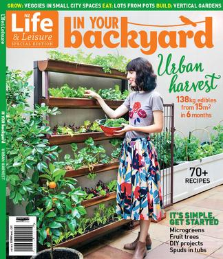 In Your Backyard - Urban Harvest magazine cover