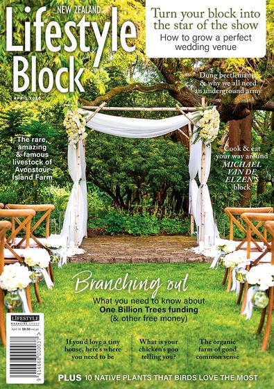 NZ Lifestyle Block magazine cover