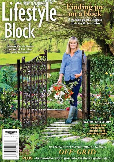 NZ Lifestyle Block magazine cover