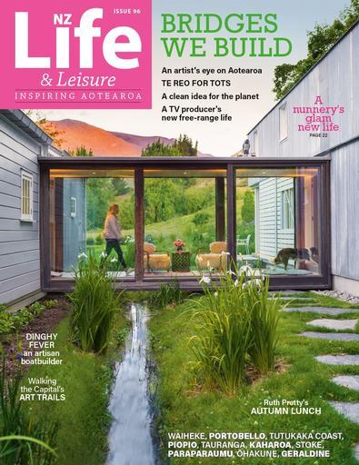 NZ Life & Leisure magazine cover