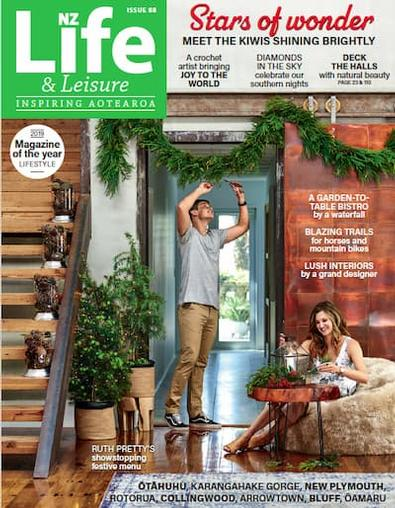 NZ Life & Leisure magazine cover