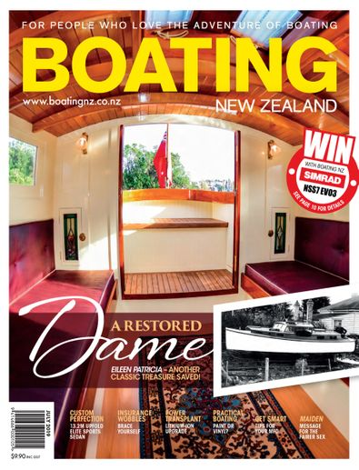 Boating NZ magazine cover