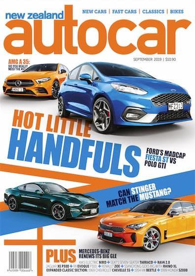 New Zealand Autocar magazine cover