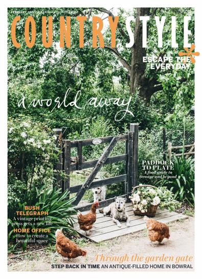 Country Style (AU) magazine cover