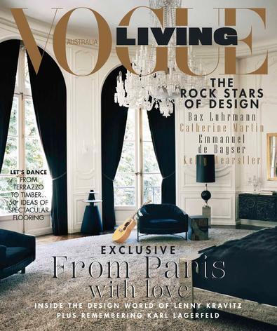 Vogue Living (AU) magazine cover