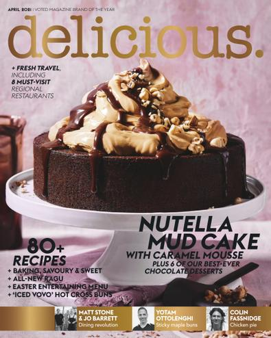 delicious. (AU) magazine cover