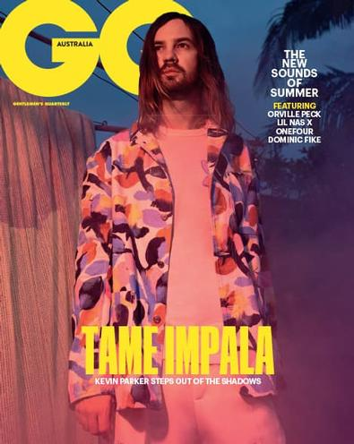 GQ (AU) magazine cover