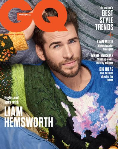 GQ (AU) magazine cover