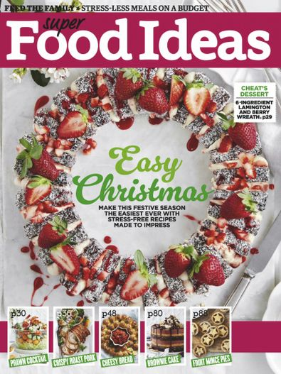 Super Food Ideas (AU) magazine cover