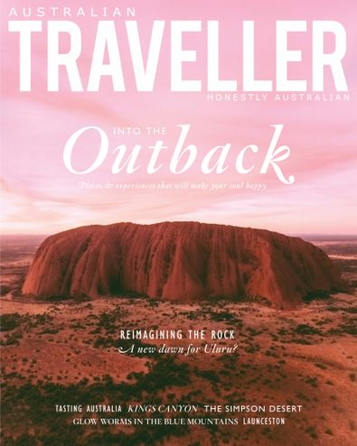 Australian Traveller (AU) magazine cover