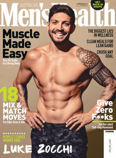 Men's Health (AU) magazine cover