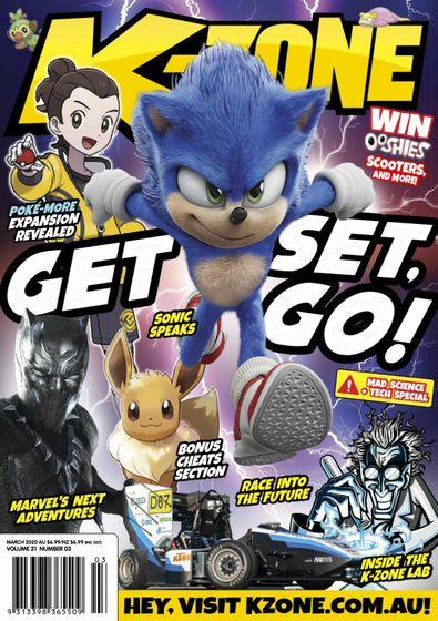 K-Zone (AU) magazine cover