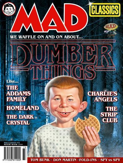 MAD Magazine (AU) cover