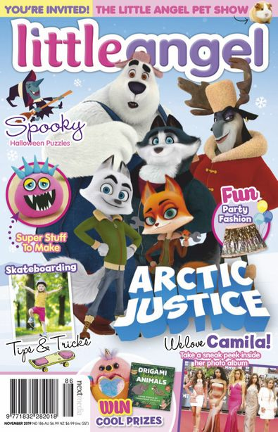 Little Angel (AU) magazine cover