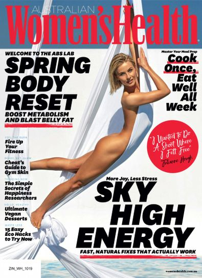 Women's Health (AU) magazine cover