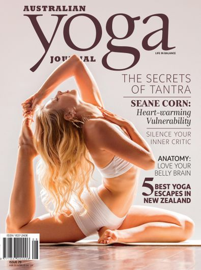Australian Yoga Journal (AU) magazine cover