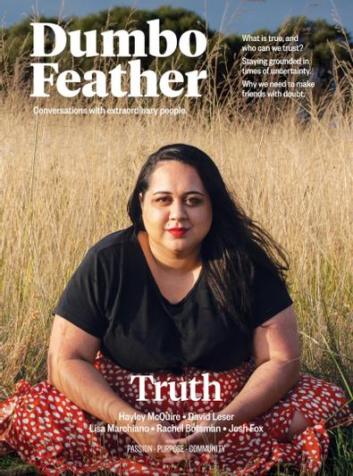 Dumbo Feather (AU) magazine cover