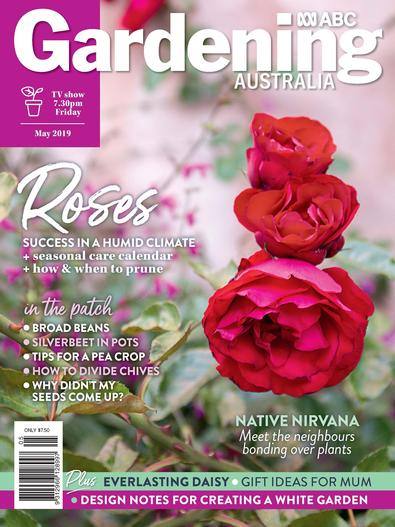 Gardening Australia (AU) magazine cover