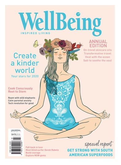 WellBeing (AU) magazine cover