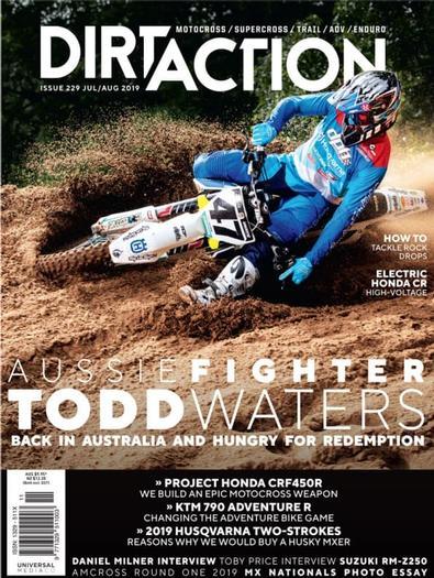 Dirt Action (AU) magazine cover