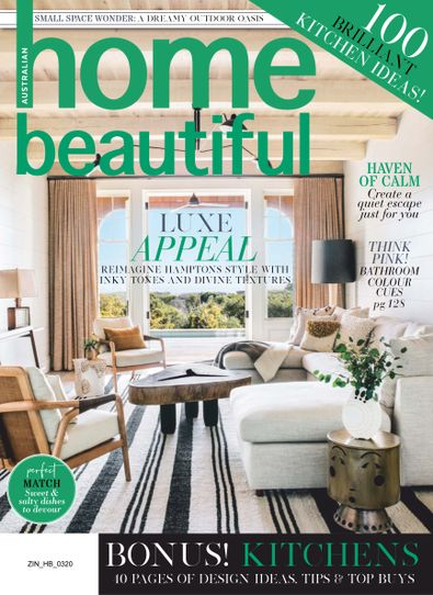 Australian home beautiful (AU) magazine cover
