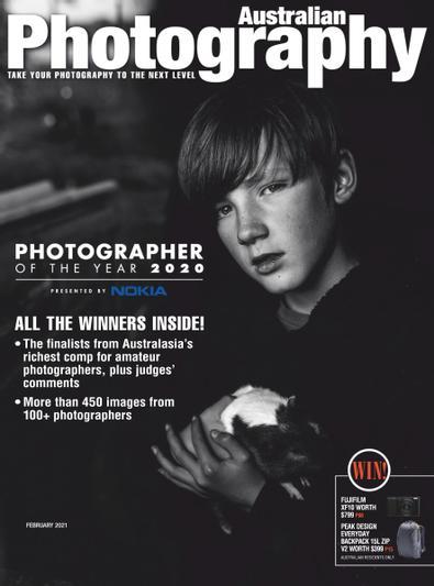 Australian Photography (AU) magazine cover