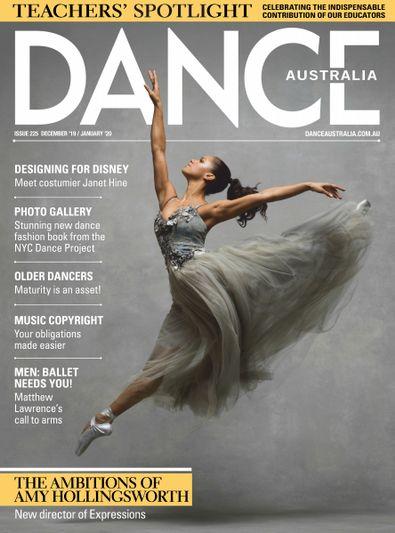 Dance Australia (AU) magazine cover