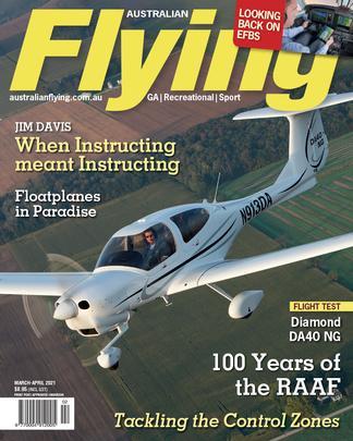 Australian Flying (AU) magazine cover