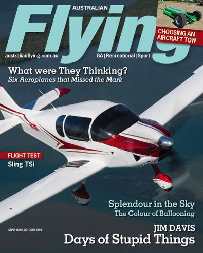 Australian Flying (AU) magazine cover