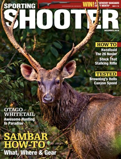 Sporting Shooter (AU) magazine cover